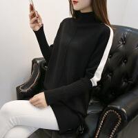 加厚毛衣女士韩版2018秋冬装新款宽松中长款长袖打底衫百搭时尚潮