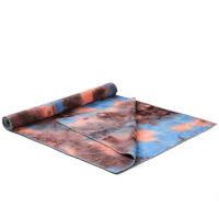 瑜伽铺巾 瑜伽巾铺巾防滑吸汗初学者瑜伽布垫瑜珈毯子可机洗瑜伽毛巾毯健身训练瑜伽 183*63cm