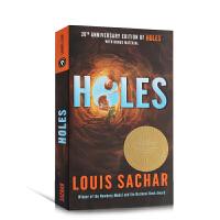 英文原版 Holes 洞 1999年纽伯瑞金奖 别有洞天原著小说