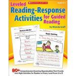 【预订】Leveled Reading-Response Activities for Guided Reading: