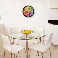 挂钟客厅卧室创意静音餐厅简约现代时钟石英钟表挂表
