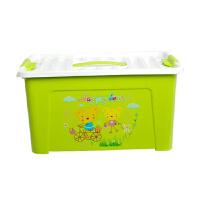 卡秀 大号多用途手提收纳整理箱 化妆箱美容工具箱收纳盒子 绿色(KX619-3)