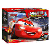 【二手旧书9成新】超级赛道互动乐学套装-赛车总动员-极速挑战-美国迪士尼公司;小中信译-9787508676296 中
