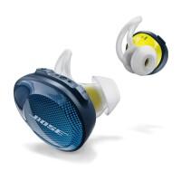 Bose SoundSport Free 真无线蓝牙耳机--午夜蓝配柠檬黄