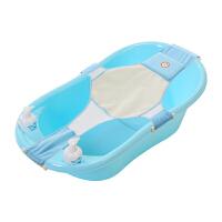 婴儿浴盆婴幼儿洗澡盆用品 儿童澡盆大号厚宝宝可坐躺小孩