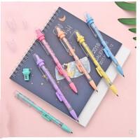 卡通活动铅笔2.0小学生自动铅笔办公书写儿童文具用品礼品 颜色随机