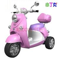 绚丽儿童电动车三轮车3-6-10岁男女宝宝电动摩托车童车儿童带LED灯双驱动玩具车可坐人