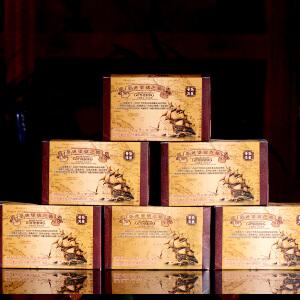 10盒一起拍【9年陈期老熟茶】 2006哥德堡袋泡茶普洱茶熟茶散茶20小包/盒