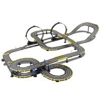 轨道赛车玩具儿童男孩双人手摇高速赛道小汽车套装总动员电动遥控