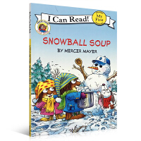 英文原版 Christmas 圣诞绘本 I Can Read 系列Snowball Soup Little Critter英文少儿图书读物