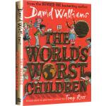 英文原版 The World'S Worst Children 世界上最糟糕的孩子 10个故事全彩版精装大卫少年幽默小