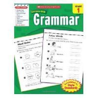 英文原版Scholastic Success With Grammar, Grade 1学乐成功英语 1年级语法