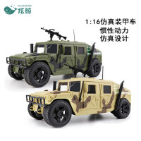 仿真惯性车 军事吉普越野车装甲 车模型 声光音乐玩具车