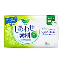 花王 乐而雅 F透气棉柔 纤巧日用护翼型进口卫生巾 22.5cm 22片