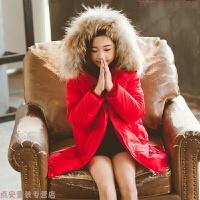 女童棉衣2018新款儿童羽绒中长款洋气外套冬装大女孩加厚棉袄