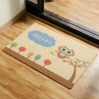 【满减】ORZ 防滑丝圈厚制蹭土地垫 入户家用地毯客厅大厅台阶垫
