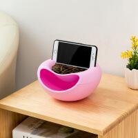 创意家居生活用品百货大一新生大学生住校抖音神器家用小东西 小号粉色(带凹槽) 可放手机