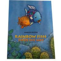 【全店300减100】Rainbow Fish Finds His Way 彩虹鱼 Marcus Pfister经典作品