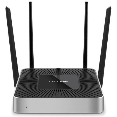 TP-LINK TL-WVR1200L 1200M全千兆双频企业级无线路由器wifi穿墙王智能光纤宽带VPN多WAN口 带机量100台 防火墙、VPN、微信连wifi