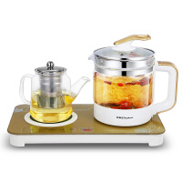 荣事达EM1239养生壶全自动加厚玻璃煮茶器套装多功能电热水壶保温