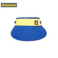 巴拉巴拉春夏2018新款童装男童帽子休闲中大童鸭舌帽时尚棒球帽潮
