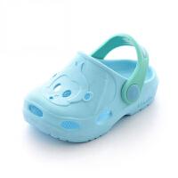 洞洞鞋儿童拖鞋夏女童宝宝拖鞋男1-3岁防滑软底婴幼儿小孩凉拖鞋