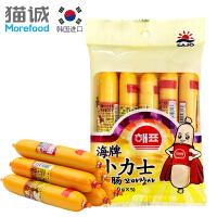【满减】韩国进口 海牌小力士鱼肠100g/包(20g*5根) 鱼肉肠火腿肠 怀旧零食