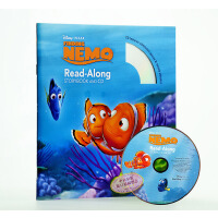 英文绘本Finding Nemo迪士尼海底总动员Disney Read Along+CD