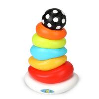 叠叠乐彩虹塔套圈婴儿玩具儿童宝宝益智套杯叠叠杯1-3岁