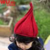 乌龟先森 儿童帽子 男女童秋冬季新款韩版学生腈纶西瓜扭扭帽加绒针织帽中大童时尚休闲男女孩亲子毛线帽