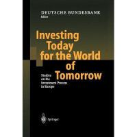 【预订】Investing Today for the World of Tomorrow: Studies