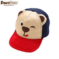【秒杀价:52元】Pawinpaw宝英宝卡通小熊童装男童棒球帽