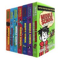 预售 英文原版 Middle School Collection 上学不容易系列 地狱高中生活 电影原著 校园成长小说