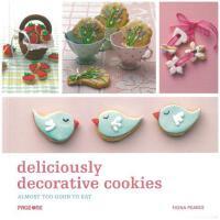 DELICIOUSLY DECORATIVE COOKIES 美味的花式曲奇饼干设计书籍