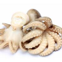 速鲜 新鲜活冻小八爪鱼250g 8-10只 袋装迷你小章鱼长腿章鱼足须冷冻海鲜水产