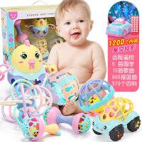 育儿宝 婴幼儿玩具01岁3612个月女孩六个月宝宝玩具男孩婴儿摇铃