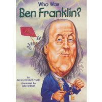 Who Was Ben Franklin? 漫画名人传记:本杰明�q富兰克林 ISBN9780448424958