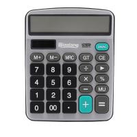 晨光(M&G)837双电源金属面板计算器计算机 办公文具 ADG98721