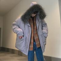 2018新款男士外套冬季棉衣韩版潮学生冬装棉袄情侣面包服冬装