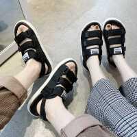 男士凉鞋夏季拖鞋男时尚沙滩两用情侣一字外穿2019新款越南凉拖潮