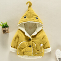 男女����棉衣外套1-3�q秋冬新款加厚��盒∶抟\�和�加�q保暖