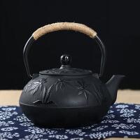 铸铁茶壶日本铁壶纯手工泡茶壶功夫茶具铸铁壶无涂层 铁茶壶日本南部生铁壶茶具烧水煮茶老铁壶