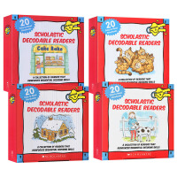 学乐 Scholastic 出版社英文原版 Decodable Readers Box Set Level A B C