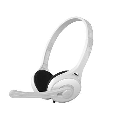 Edifier/漫步者 K550电脑耳机头戴式台式游戏吃鸡手机音乐耳麦带麦克风话筒重低音有线通用 轻便舒适语聊音乐灵敏麦克风电脑耳麦