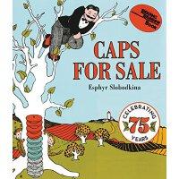 【英文原版】Caps for Sale 卖帽子 英文原版 [纸板书] [4-8岁]