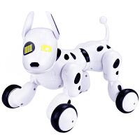 儿童玩具男孩仿真智能电动遥控机器狗小狗会走路说话4岁唱歌跳舞 升级充电版智能机器狗 官方标配【收藏送螺丝刀】