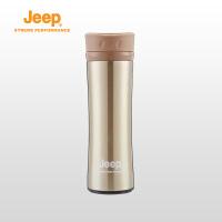 Jeep/吉普 男女户外保温杯不锈钢水杯骑行旅游登山运动休闲水壶