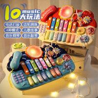 婴儿玩具宝宝音乐手拍鼓儿童多功能拍拍鼓6-12个月早教8益智0-1岁