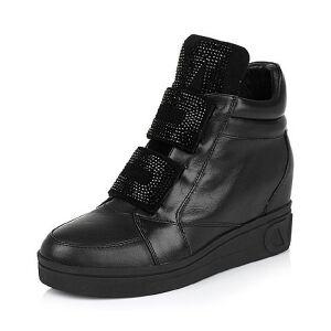 Teenmix/天美意专柜同款牛皮/羊绒皮女靴AL58HDD5