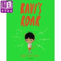 【中商原版】拿韦的怒吼 英文原版 Ravi's Roar 儿童情绪管理绘本 情感宣泄表达